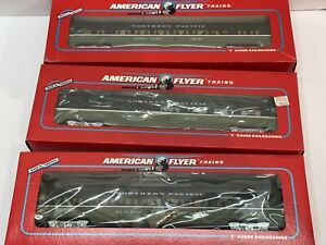 American Flyer Northern Pacific Passenger Cars