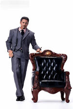 1/6 Boss Chair Model Single Couch DIY Figure Scene Accessories