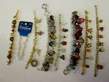 Christmas Jewelry Lot-8 Piece-Some Signed-Lot#619