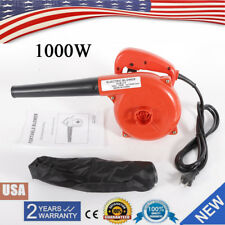 110V 1000W Electric Hand Operated Air Blower Computer Vacuum Dust Cleaner Red Us