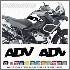 2x ADV Black Fianco Serbatoio BMW R1200GS ADV 08-13 ADESIVI PEGATINA STICKERS