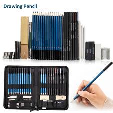 40Pcs Drawing Sketch Pencil Pen Set Artist Painting Art Writing Craft Kit Tools