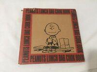 """PEANUTS LUNCH BAG COOK BOOK""  - SCHULZ/DUTTON -1970 1ST ED HC/DJ - RARE!"