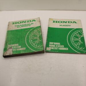 MANUEL REVUE TECHNIQUE D ATELIER HONDA XL 600 V TRANSALP 1987 - 1989 XL600V