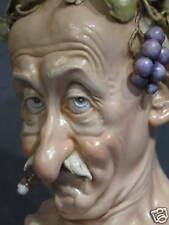 """porcelaine de Capodimonte, G.Cappè """"Bacchus et Tabac"""""""