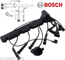 GENUINE BOSCH IGNITION LEADS WIRES CABLES BMW E30 E36 316 318 i 316i 318i CABRIO