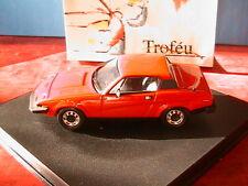 TRIUMPH TR7 ROAD CAR VERMILLION RED TROFEU 1/43 1978 LHD LEFT HAND DRIVE 2001R