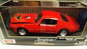 Motor Max American Classics 1973 Pontiac Firebird Trans Am 1/24 Diecast Car