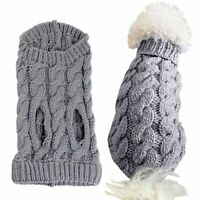 Small Dog Knitted Jumper Knitwear Pet Puppy Clothes Cat Sweater Coats Costume