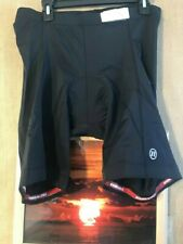 Novara men's 2XL black padded cycling shorts