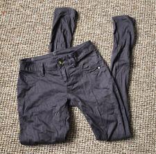 "Womens Grey Monkee Genes size uk 10/ 28"" waist Cord Jeans"