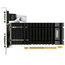 Grafikkarte MSI Nvidia GeForce GT 730, 2 GB VGA, HDMI, DVI, PCI-Express, passiv
