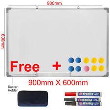900 X 600 mm Oficina/Escuela Magnético seco limpie pizarra dibujo Memo tablón de anuncios
