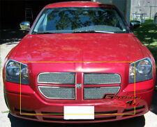 Fits 2005-2007 Dodge Magnum Stainless Mesh Grille Insert
