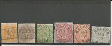 Preussen V. / HALVER Ra2 auf Pr. 12b + 18b + je K1 a. NDP 2, Briefstück NDP 4, 6