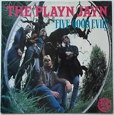 THE PLAYN JAYN Five Good Evils 1985 U.K. ABC EX/EX