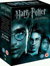 Harry Potter Complete 1-8 BoxSet Complete Film Collection DVD Brand New & Sealed