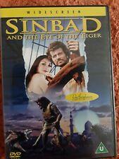 SINBAD & EYE OF TIGER 1977 DVD EPIC FILM WIDESCREEN MOVIE USED 108 MIN CERT U