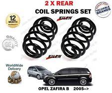 FOR OPEL ZAFIRA B A05 PETROL + CDTI MODEL 2005-2015 NEW 2 X REAR COIL SPRING SET