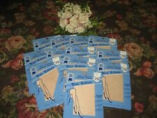 Vintage Ladies New Size 9 Champagne Beige Seamed Nylon Stockings12 Pair In Lot