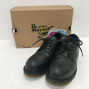 Dr Martens Safety Shoe Boots Size UK8 EU42 Black Steel Toe Slip Resistant 241310