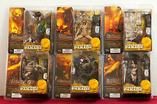 McFARLANE CLIVE BARKERS INFERNAL PARADE COMPLETE SET OF 6 FIGURES...NEW ON CARDS