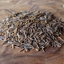 10 LBs BINESHII CHEF'S RESERVE WILD RICE HAND HARVESTED, CEDAR WOOD PARCHED.
