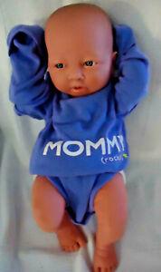 """Baby Doll, Newborn, realistic look & feel, 14"""" Doll w/clothing & cloth diaper"""