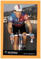 SPORT VELO / Coureur Cycliste Scott McKINLEY EQUIPE Américaine MOTOROLA en 1991