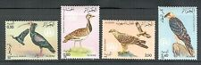 ALGERIA 1982, BIRDS, Scott 701-704, MNH