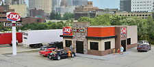 HO Scale Dairy Queen Grill & Chill Structure Kit - Walthers #933-3485