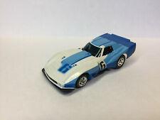 AURORA Rare AFX NOS Corvette GT  White/Blue #6 Brand New  Model Motoring L@@K~HO