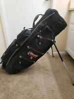 Burton Hybrid Golf Bag Michelob Lager Hybrid Stand Cart 14 way