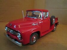 Danbury Mint 1956 FORD F100 PICKUP TRUCK RED VERY NICE 1/24 LOOSE DISPLAY