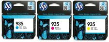 Genuine HP 935   Cyan Magenta Yellow  ink Cartridges