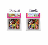 Shopkins Treat Goodie Bag Toppers Tags Birthday Party Favors 6pc Personalized