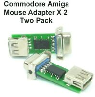 Amiga PC Mouse Adapters Twin Pack - Two Adapters