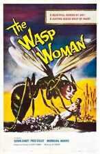 Wasp Woman Poster 01 Metal Sign A4 12x8 Aluminium