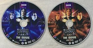 DOCTOR WHO - The Movie 2 x *DVD Only As Pictured* Paul McGann
