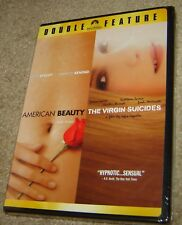 American Beauty/The Virgin Suicides (Dvd, 2007, 2-Disc Set, Widescreen), New!