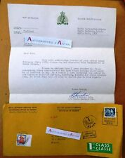 Lettre 1972 cf cachets + taxe - Canada > France - Royal Canadian Mounted Police