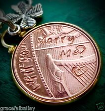 2017 Wedding Will you marry me  unique marriage proposal Idea gift lucky penny