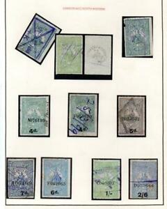 COLLECTION OF LONDON & NORTH WEST RAILWAY PARCEL STAMPS