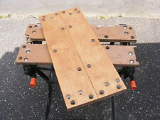 NEW BIRCH PLY JAWS FOR  BLACK & DECKER WORKMATE WM536 WITH 8 BOLT FIXING. Parts.