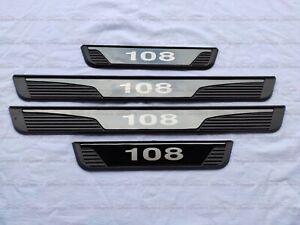 für Peugeot 108 Auto Zubehör Teile Beschützer Einstiegsleisten Zierleisten 2021
