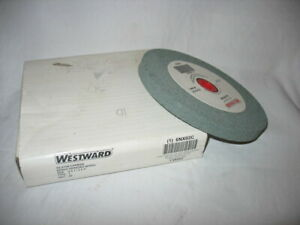 "-NEW- WESTWARD SILICON CARBIDE 6"" X 1/2"" X 1"" BENCH GRINDING WHEEL #6NX02C"