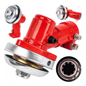 Winkelgetriebe Getriebe Motorsense Freischneider 9 Zahn 28mm Rohr Fadenkopf