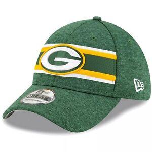 Green Bay Packers Hat New Era 39Thirty Cap 3930 Flex-Fit Size S/M M/L L/XL New