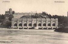 15741/ Foto AK, Trollhättan, Kraftstationen, ca. 1910