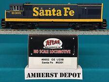 Atlas HO Engine Santa Fe GE U23B SF Locomotive 8652
